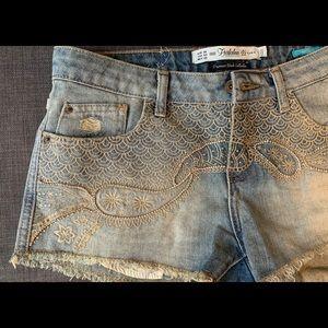 Zara Denim Shorts. Size. 4